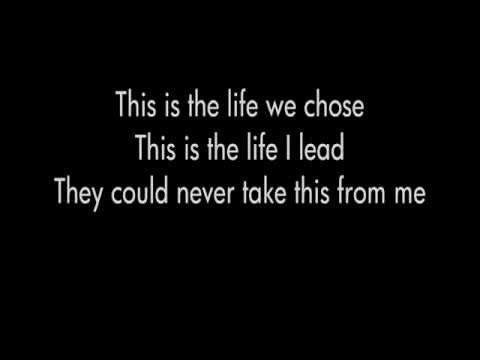 NJ Legion Iced Tea - A Day to Remember (Lyrics) HD