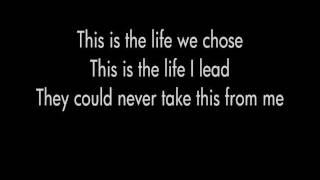 NJ Legion Iced Tea - A Day to Remember (Lyrics) HD