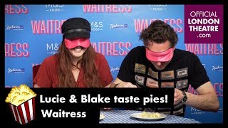 Lucie and Blake guess the pies - Waitress