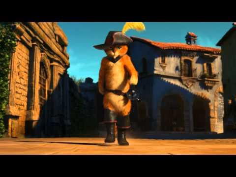 Trailer do filme Gato de botas
