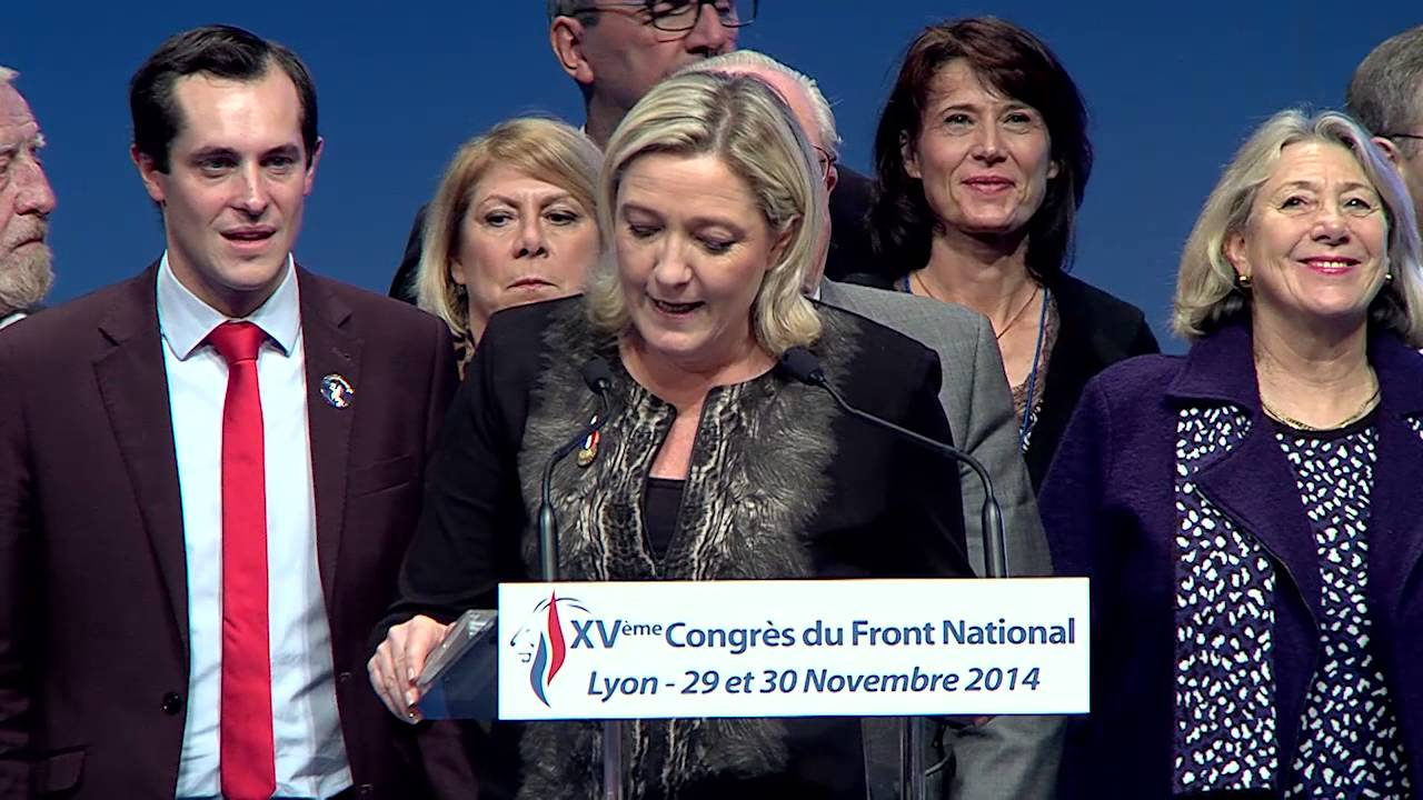 Xv me congr s du front national lyon pr sentation du nouveau bureau politique youtube - Bureau du front national ...