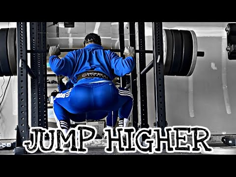 Do Squats To Help You Jump HIGHER