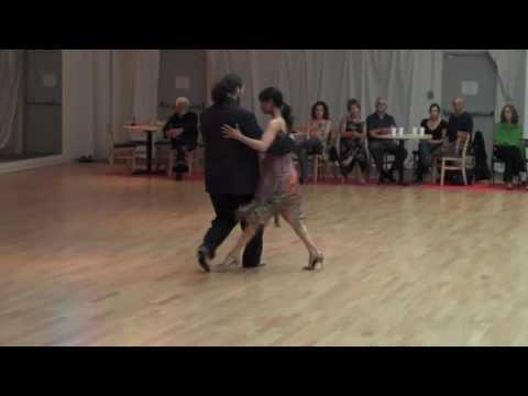 """Damian Thompson and Tara Fortier performing at """"Loca de Amor"""" in San Diego"""
