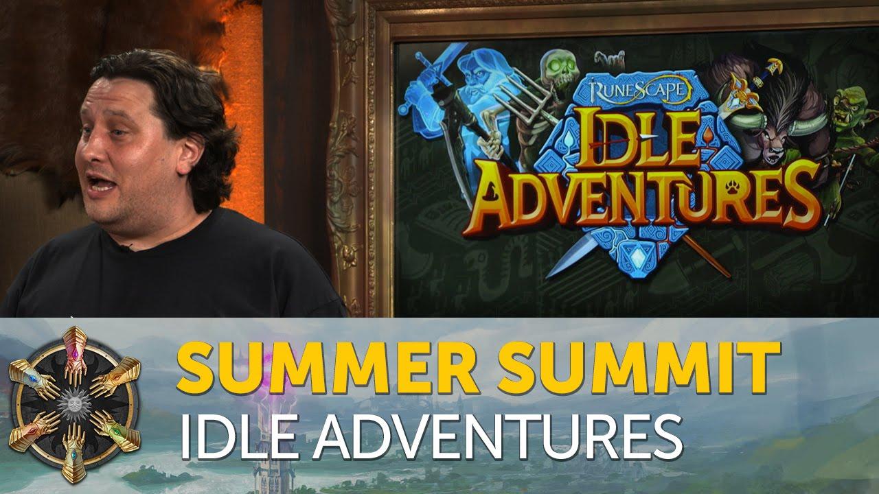 New RuneScape mobile game - RuneScape: Idle Adventures - Summer Summit 2016