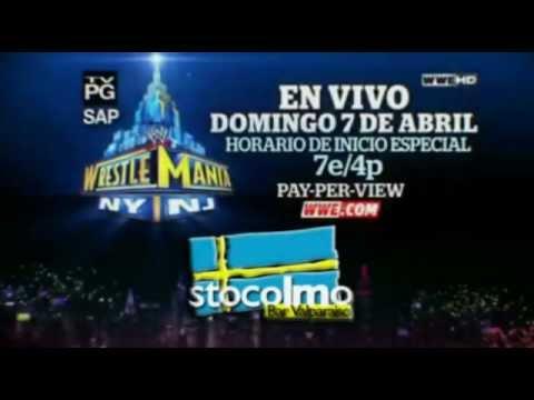WWE WRESTLEMANIA XXIX @STOCOLMOBARVALPO PROMO
