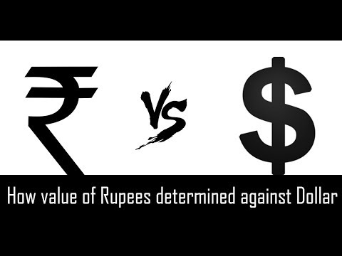 How Rupees Value Is Determined | Why Indian Rupees Falling Against Dollar