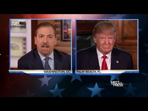 Donald Trump FULL INTERVIEW with Chuck Todd on NBC 2/14/16
