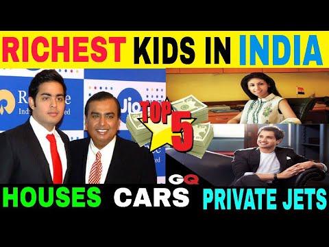 TOP 5 RICHEST  BILLIONAIRES KIDS IN INDIA 2018 I AKASH AMBANI ON TOP   BILLIONAIRE KIDS