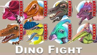 Dino Fight - Dinosaur Man #5: T-Rex Clan | Eftsei Gaming