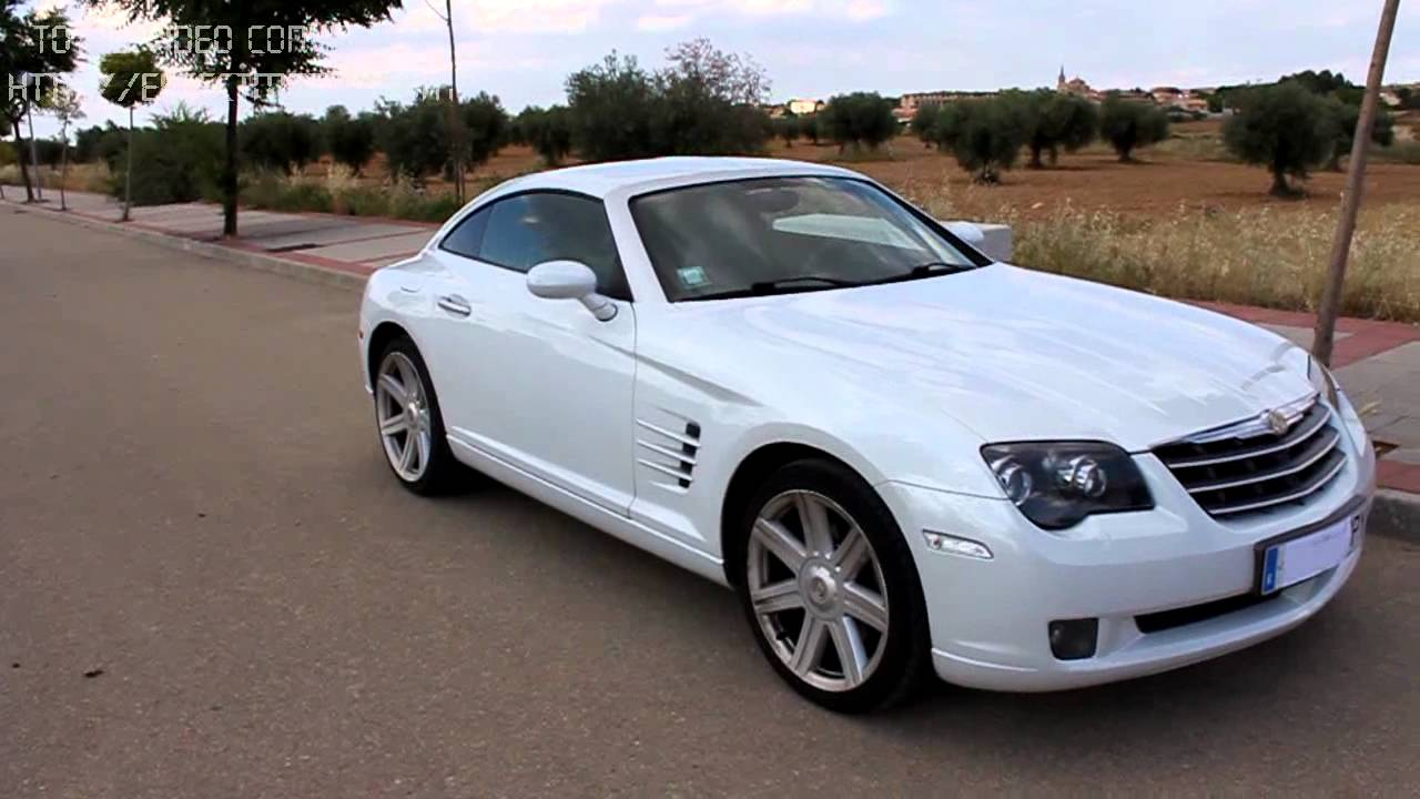 chrysler crossfire blanco 3 2 v6 218cv limited auto youtube. Black Bedroom Furniture Sets. Home Design Ideas