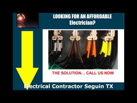 Electrical Contractor Seguin TX - Phone us at (210) 757-4378