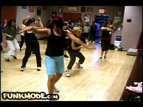 I Know You Want Me (Calle Ocho)  - Pitbull - FUNKMODE Hip Hop Class - June 2009