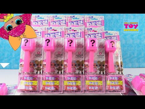 LOL Surprise Pez Mystery Blind Bag Characters Opening | PSToyReviews