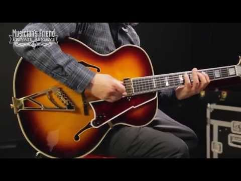 D'Angelico 1942 Masterbuilt in USA Hollowbody Electric Guitar Sunburst