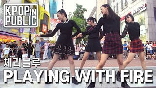 [KPop in Public] Cherryblue │ BLACKPINK - Playing with fire Dance Cover in KOREA
