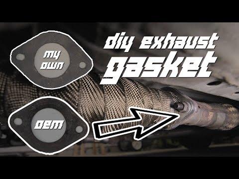 DIY PROFESSIONAL EXHAUST GASKETS UNDER $5