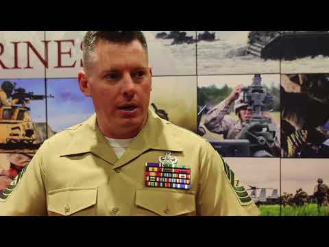 Marine Corps Systems Command shows 3-D printing capabilities at Sea-Air-Space convention