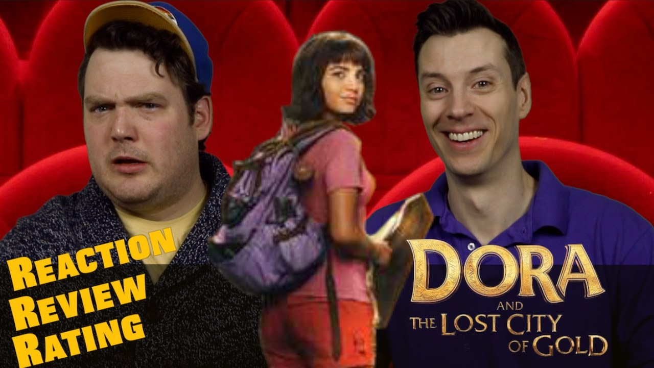 Dora and the Lost City of Gold - Trailer Reaction / Review