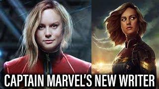 Captain Marvel Gets DCEU Writer