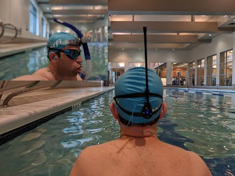 Waterfi Bluetooth Swim Kit Player Review And Demo -  Perfect For Swimming Laps