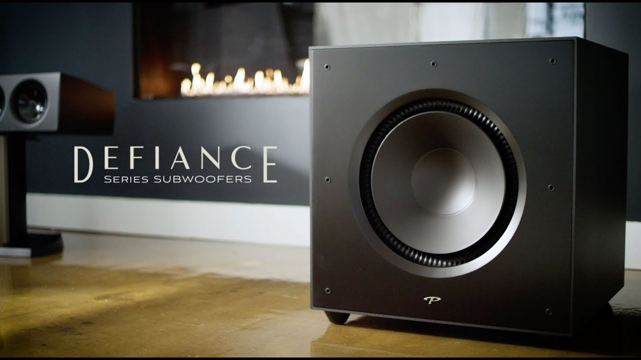 Defiance X & V Subwoofers, from Paradigm