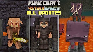 Everything Added in Minecraft 1.16 the Nether Update!