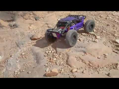 OutCast Crawlers Pitbull team driver, tire test 2.2 PBX AT's in moab