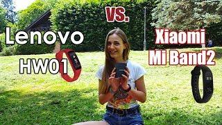 lenovo HW01 - ПРОВАЛЬНЫЙ фитнес-браслет  ОБЗОР-СРАВНЕНИЕ c Xiaomi Mi Band 2