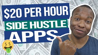 7 HIGH PAYING Side Hustle Apps To Make Money From Your Phone (Make Money Side Jobs 2020)