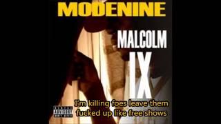 Modenine: Elbow Room (Lyrics)