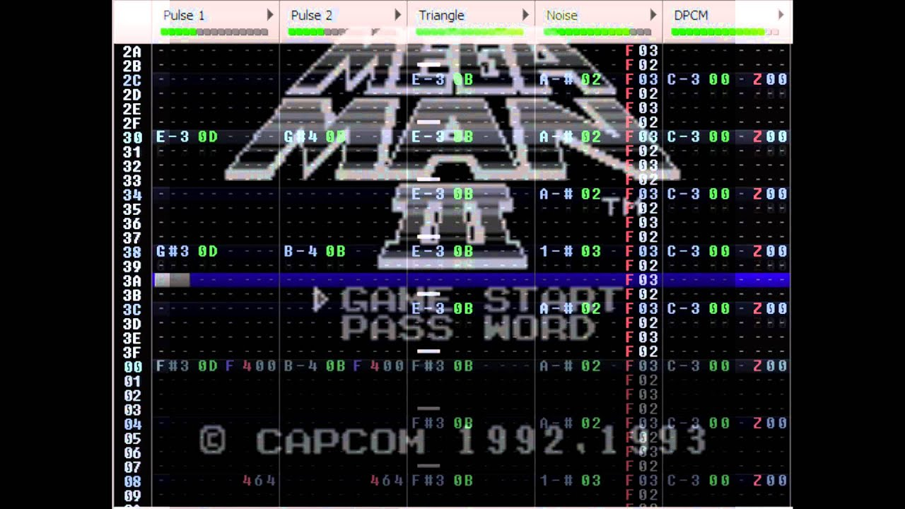 Rockman World 3 - Title (Konami arr?) (Famitracker Cover 2A03)