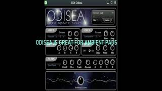 DSK ODISEA FREE PAD VST -DEEP SPACE PAD SOUNDS.