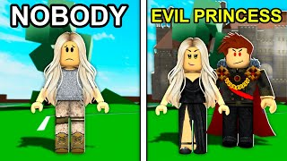 NOBODY To EVIL Princess In Roblox Brookhaven..
