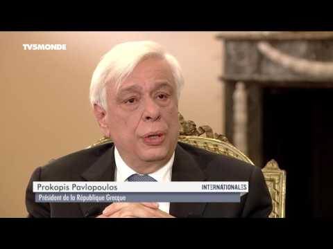 Prokopis Pavlopoulos dans Internationales - Emission du 11 décembre 2016