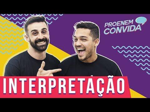 PROENEM CONVIDA | Interpretação De Texto | Felipe Moraes + Vinicius Oliveira