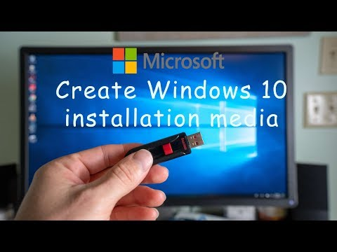How to Create Windows 10 Installation Media on USB Flash Drive