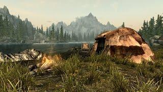 """Обзор мода """"Переносной Походный Лагерь""""  для TES V: Skyrim"""