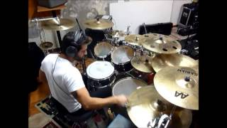 Stone Sour - Gone Sovereign + Absolute  Zero - Drum Cover