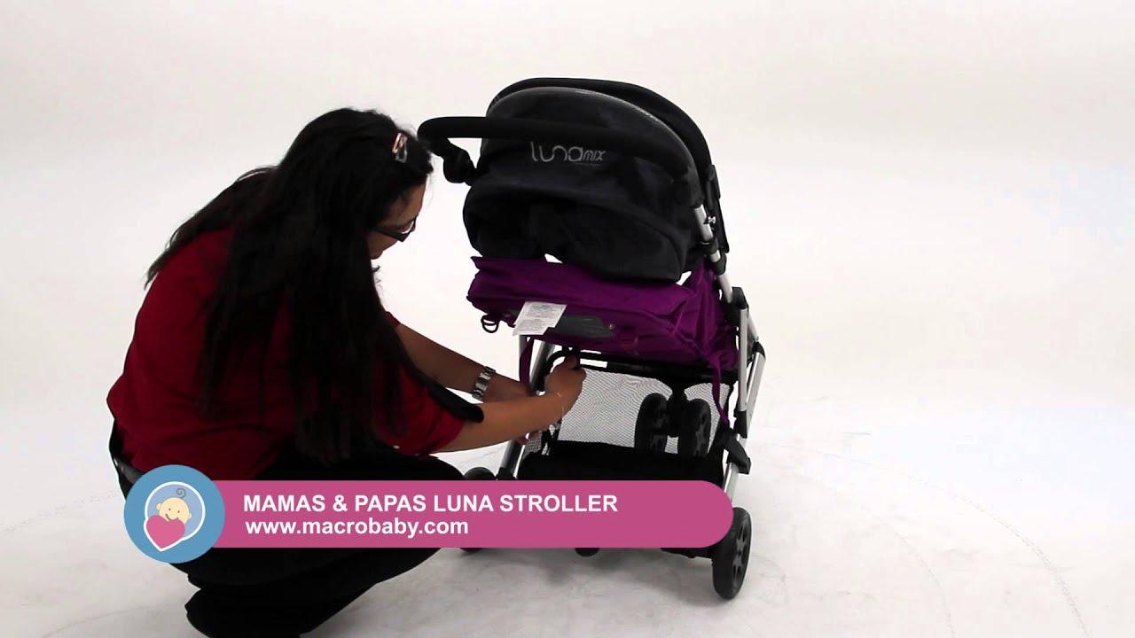 MacroBaby - Mamas & Papas Luna Stroller - YouTube