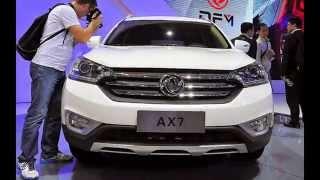 Новый китайский кроссовер Dongfeng AX7