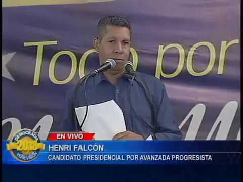 Henri Falcón: Desconocemos el proceso electoral de este 20 de mayo