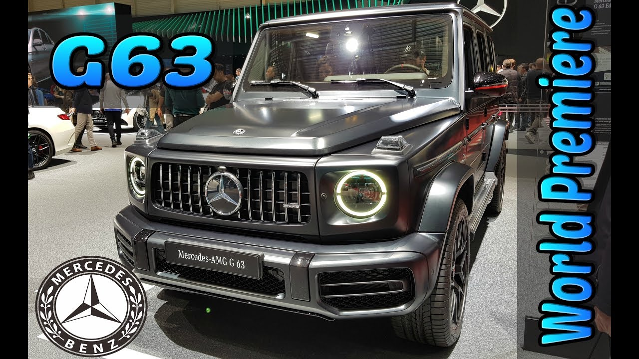Mercedes-Benz 2018 AMG G63 SUV V8 BITURBO - YouTube