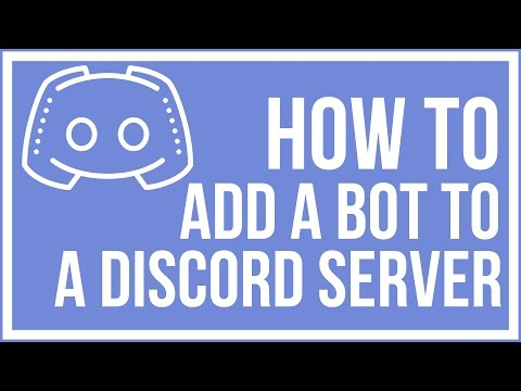 How To Add A Bot To Your Discord Server - Discord Tutorial