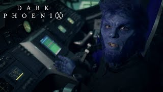 X-men Dark Phoenix  How To Fly Your Jet To Space With Beast  20th Century Fox
