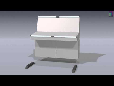 A Look Inside a Rittal Console System
