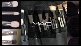 MAC 브러쉬 뭐사지?! ⚡️ #맥브러쉬 22종 리뷰 …