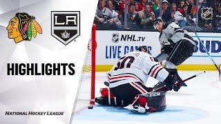 NHL Highlights | Blackhawks @ Kings 11/02/19