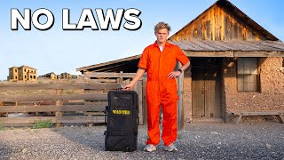 Overnight in an Abandoned Ghost Town with NO LAWS