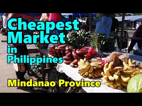 Cheapest Market in Mindanao Philippines