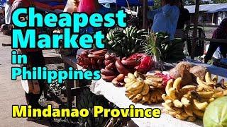 Cheapest Market in Mindanao Philippines